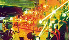 Laser system for isotope separation